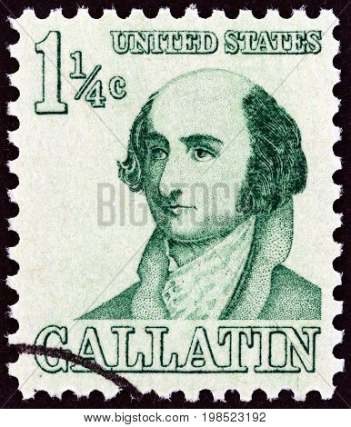 USA - CIRCA 1967: A stamp printed in USA from the