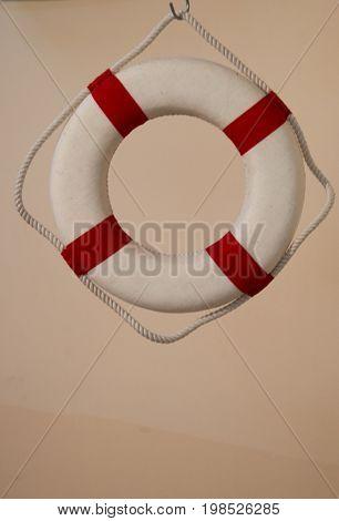 Life Preserver Or Life Saver Hanging