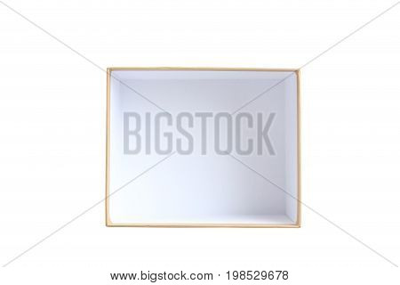 Brown Box Isolated On A White Background