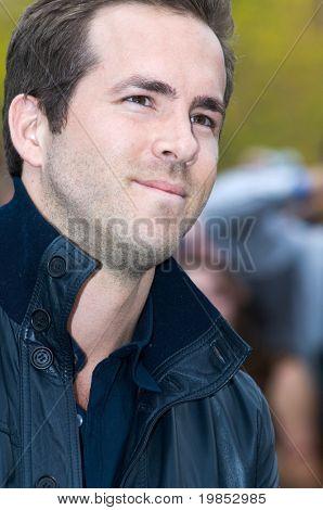 TEMPE, AZ - APRIL 27: Actor Ryan Reynolds appears at the premiere of X-Men Origins: Wolverine on April 27, 2009 in Tempe, AZ.