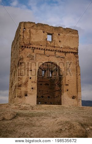 Marinid Tombs In Fez. Morocco