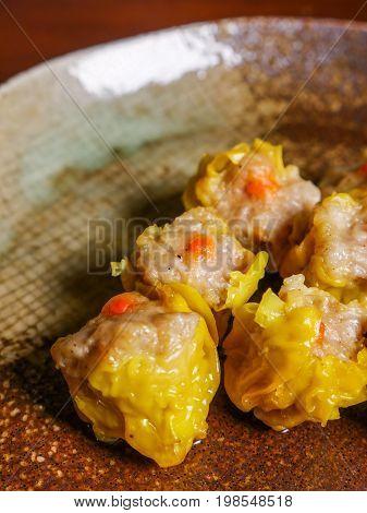 Shumai A Dim Sum Chinese Dumplings Food