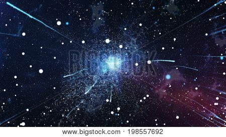The Initial Explosion Of The Universe The Big Bang