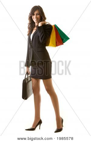Shopping Business Woman