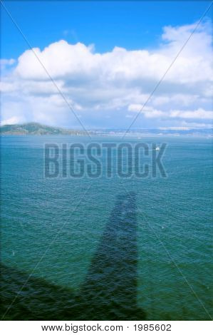Golden Gate Bridge Shadow