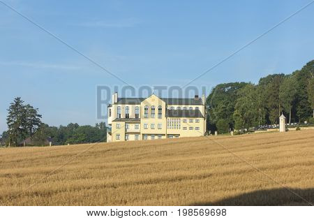 Pilgrim house in the international sanctuary of St. Anna on the Mount St. Anna in Poland