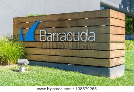Barracuda Networks Headquarters And Logo