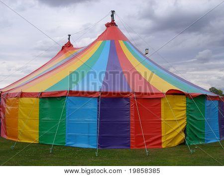 Circus big top.