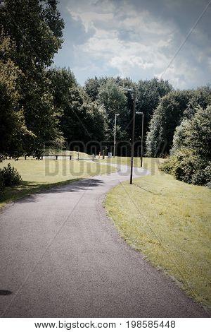 Public Footpath In Park