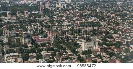 Rostov on Don, Buildings view from sky,