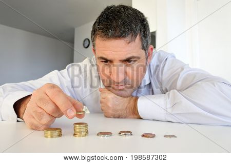 Man Having Financial Problems