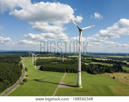 Wind turbines generators for sustainable clean electricity