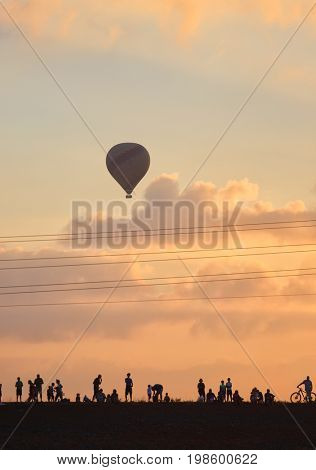 Festival of balloons in the north of Israel