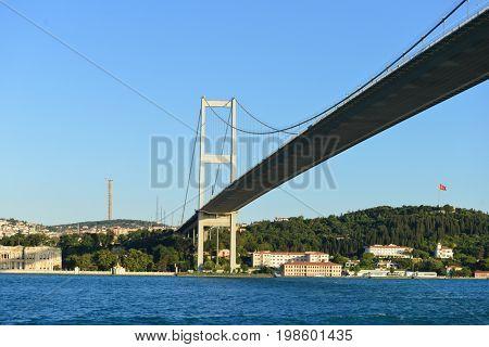 Istanbul Bosporus Bridge - Istanbul, Turkey