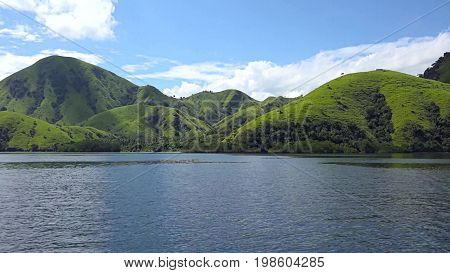 Beautiful landscapes, these are the rivers, lakes, mountains and hills. unearthly beauty.