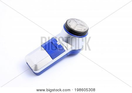 The Electric Razor Or Electric Shaver, Shaving Machine Isolated On White Background.