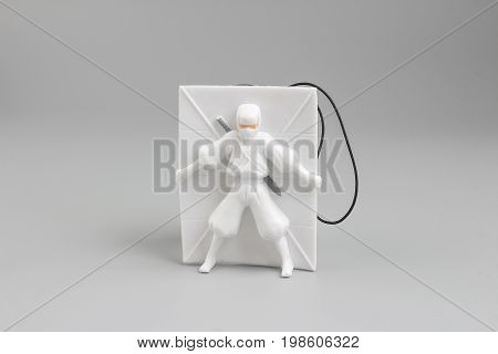 the figure of toys Ninja of Attacking