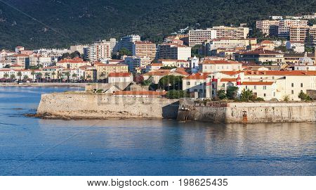 Ajaccio, Coastal Cityscape With Ancient Citadel