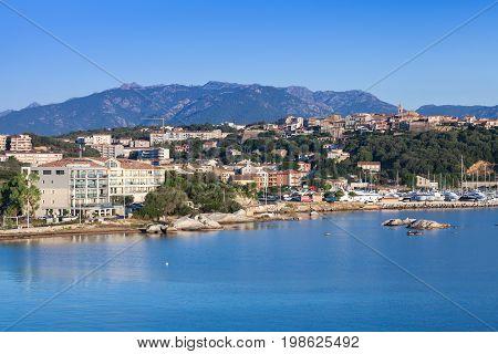Corsica Island, France. Porto-vecchio In Summer