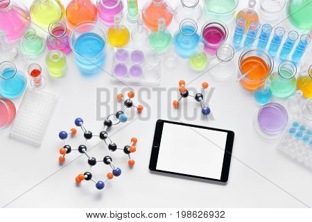 Laboratory equipment and science experiments