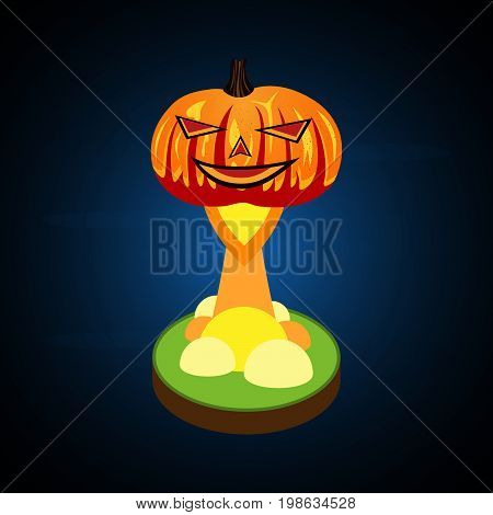 Halloween Pumpkin Soar From Float Land