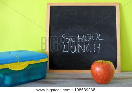 School Lunch Sign