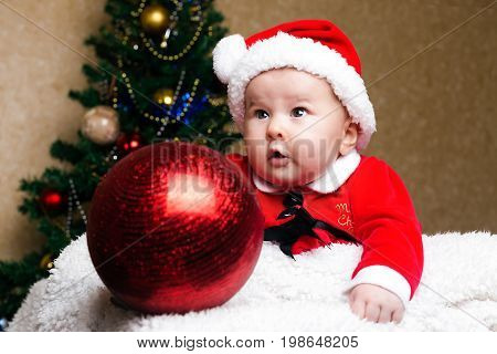 Cute Christmas Child