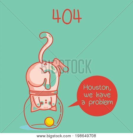 error web page. error 404. funny cats