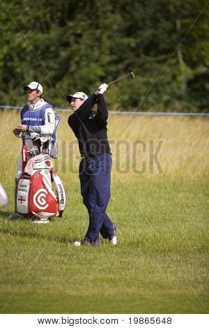 KENT UK JULY 6.England's David Howell competing at the PGA European Tour European Open at the London Golf Club Ash Kent England from the 2nd to 6th July 2008