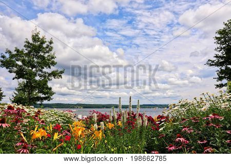 Lake Chautauqua, in western New York, is a beautiful recreation area and vacation destination.