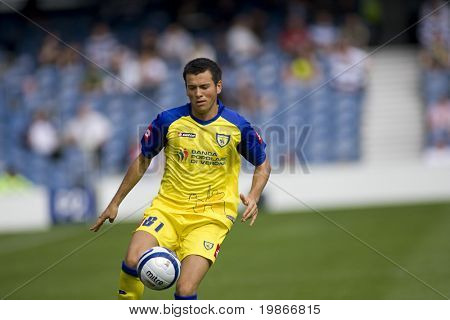 LONDON, UK AUGUST 2, Emanuele D'anna at the pre-season friendly football match between QPR and Chievo,