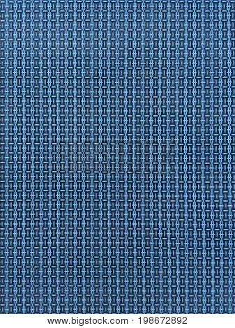 abstract blue texture of the woven rods
