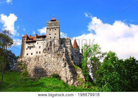 Medieval Castle of Bran Brasov, Transylvania, Romania