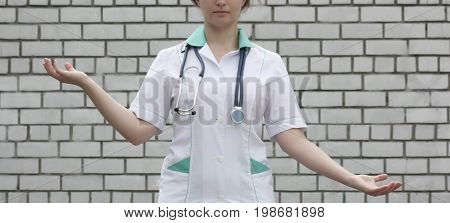 Medicine Concept Doctor. Equilibrium