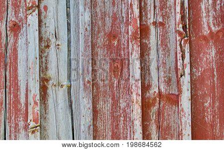 old peeling grey Weathered red Barn Wood