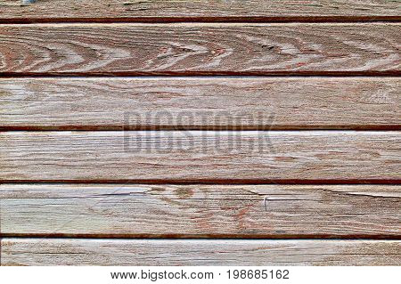 Heavily Weathered Painted grey boards with grain Horizontal