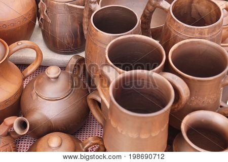 Stylish pottery for the house and the dacha