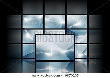 Blue Digital Space