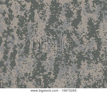 Digital Camouflage Pattern Green