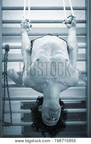 Man Yoga Wall Bars