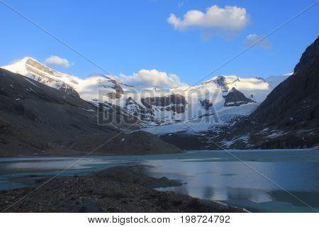 The Robson Glacier, Mount Robson Provincial Park