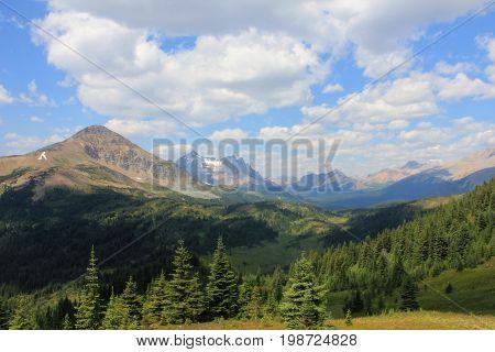 Elysium Pass in Jasper National Park, Alberta in the fall of 2016.