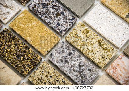 Tile flooring. Granite tile flooring. Bathroom flooring tiles. Tiled flooring of marble. Rectangular tile flooring.
