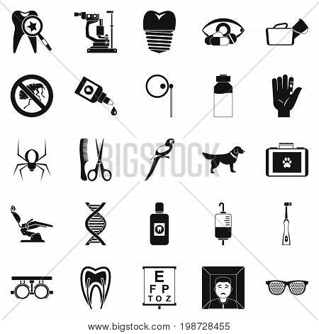 Relatives icons set. Simple set of 25 relatives vector icons for web isolated on white background
