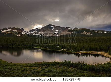 Brainard Lake After Sunset