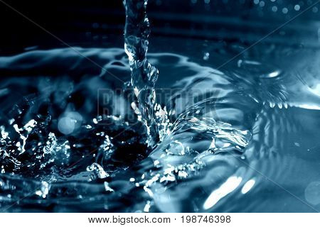 Water as wallpaper / Water is a transparent and nearly colorless chemical substance that is the main constituent of Earth's streams, lakes, and oceans, and the fluids of most living organisms