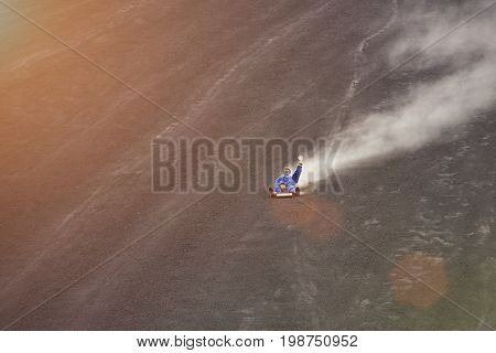 Extreme activity in Nicaragua. Volcano boarding travel tour in Nicaragua