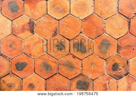 old hardened clay texture abstract for background