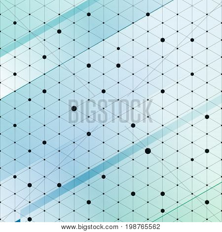 Modern stylish isometric pattern texture Three-dimensional rectangle Repeating geometric background with rhombus circles variously vector illustration