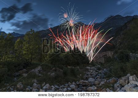 Macugnaga Fireworks